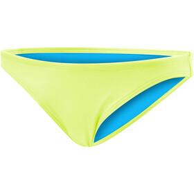 TYR Solid Micro Bikini Bottom Damen fluo yellow